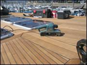 marine kosmetik entretien r novation de votre bateau entretien du teck. Black Bedroom Furniture Sets. Home Design Ideas